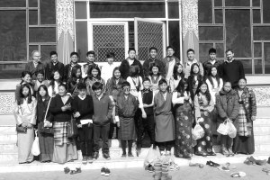 Tibetan students and chaperones; we returned with a lot more than gifts.