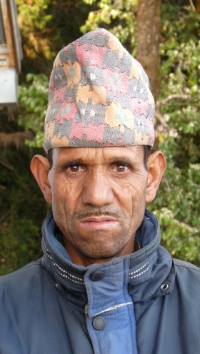 Manoj, one of the nicest coolies on the hillside