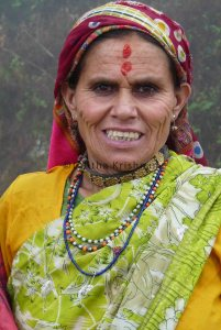 Village woman from Ranikhet